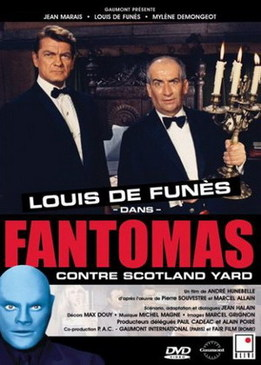 Фантомас против Скотланд-Ярда (Fantomas contre Scotland Yard)