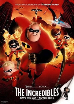 Суперсемейка (The Incredibles)