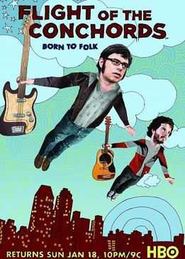 Летучие Конкорды / Полет Конкордов (The Flight of the Conchords)