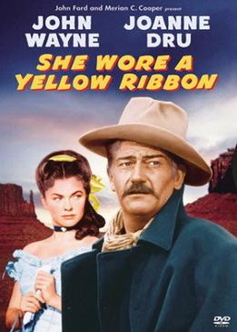 Она носила желтую ленту