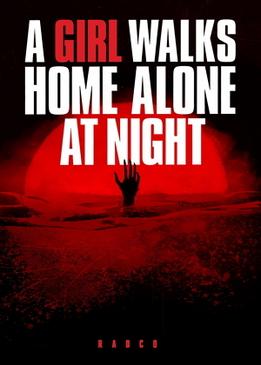 Девушка возвращается одна ночью домой