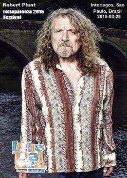 Robert Plant: Lollapalooza Festival 2015