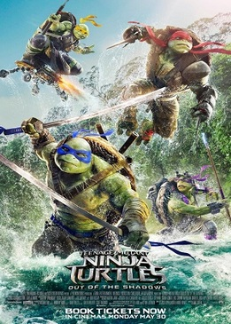 Черепашки-ниндзя 2 (Teenage Mutant Ninja Turtles: Out of the Shadows)