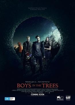 Мальчики на деревьях