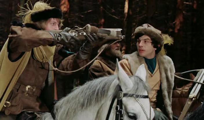 беляночка и розочка Schneeweißchen Und Rosenrot 1979 фильмы