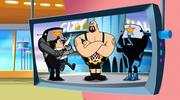 кадр из фильма Джетсоны & РЕСТЛИНГ: Робо-Рэслинг (The Jetsons & WWE: Robo-WrestleMania!) - 1