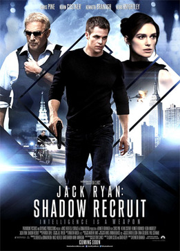 Джек Райан: Теория хаоса (Jack Ryan: Shadow Recruit)