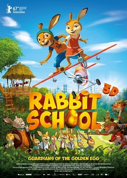 Заячья школа (Rabbit school)