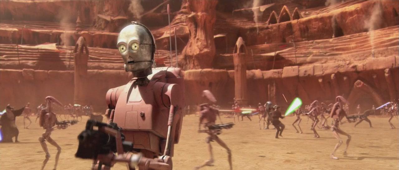 Star wars атака клонов