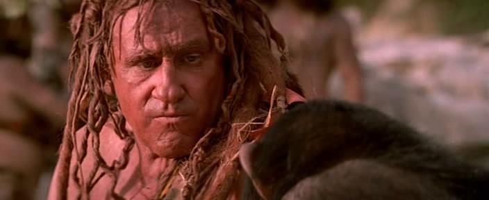 человек с жопкой на лице из племени грязноволосых