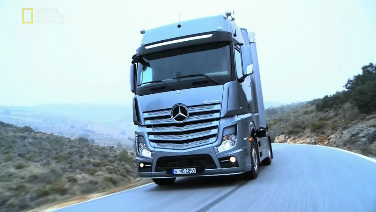 фото мерседес грузовик