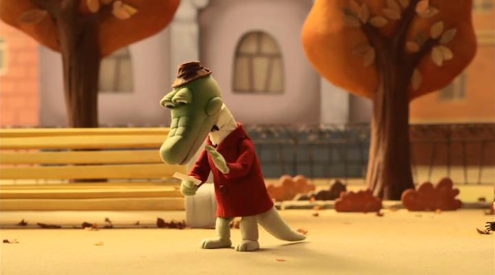 крокодил гена заболел мультфильм