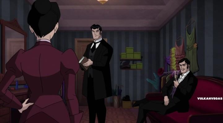 Бэтмен: Готэм в газовом свете, Batman: Gotham by Gaslight ... Линкольн Фильм Актеры